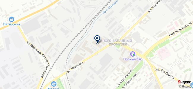 Меандр-Сервис на карте