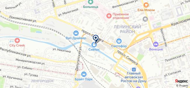 Асса-Дон, ООО на карте