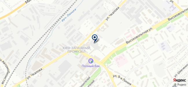 Mega Tools Cluster на карте