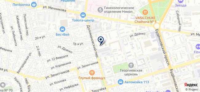 Милосердие, ООО на карте