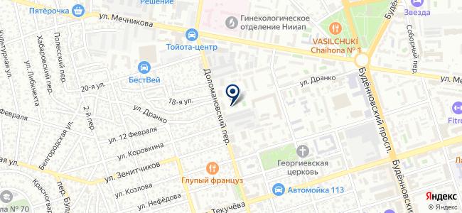 Авто-Лидер, ООО на карте