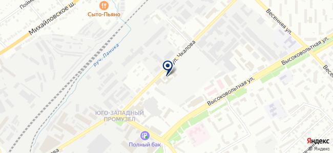 Руссторг на карте