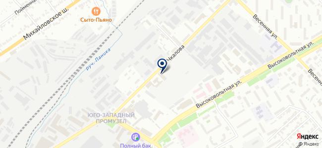 Автокомпакт на карте