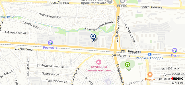 ПЭМИ, ОАО на карте