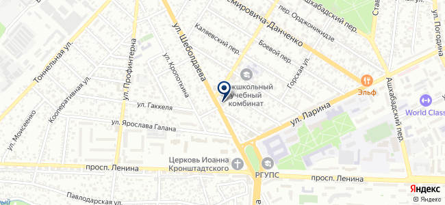 Электрик, ООО на карте