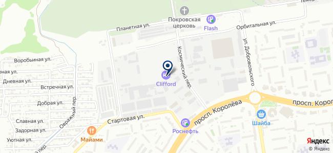 Технократ, ООО на карте