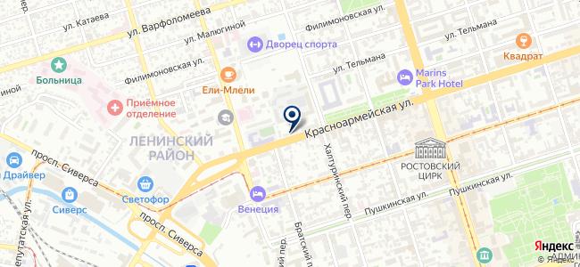 Буран на карте