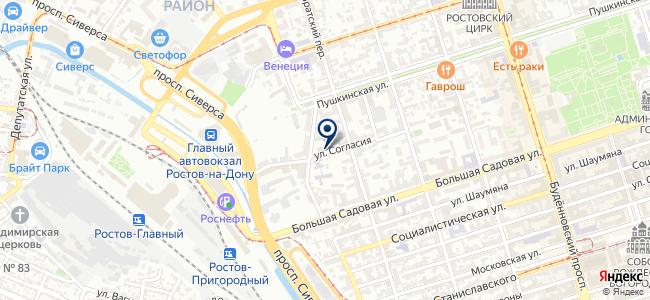 Макро, ООО на карте