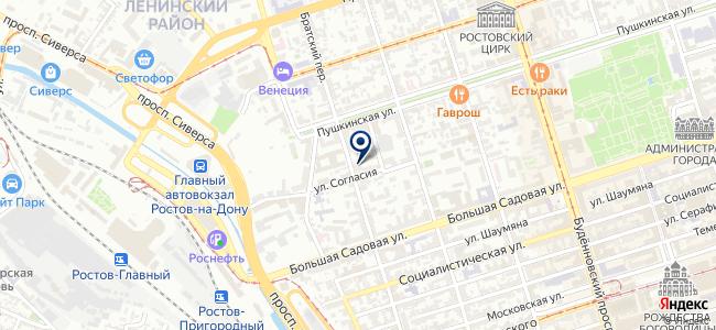 ДонГИС на карте