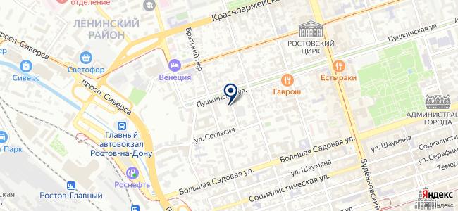 Tesar на карте
