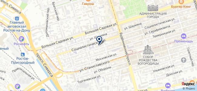 Кордон, ООО на карте