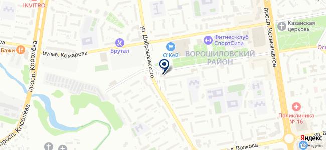 СПС, ООО на карте