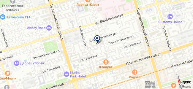 Ростовская Электротехническая Компания, ООО на карте