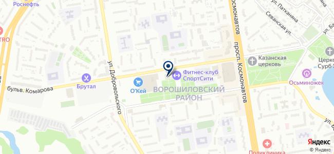 Электростиль Ростов-на-Дону, ООО на карте