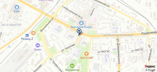 Люстры Лайт на карте