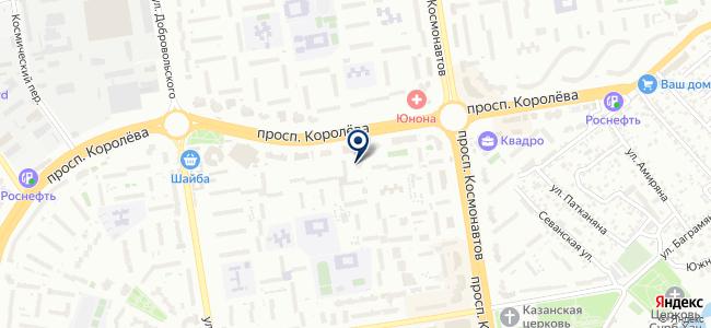 Электра на карте