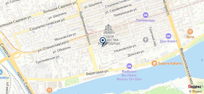 Донтехсервис, ООО на карте