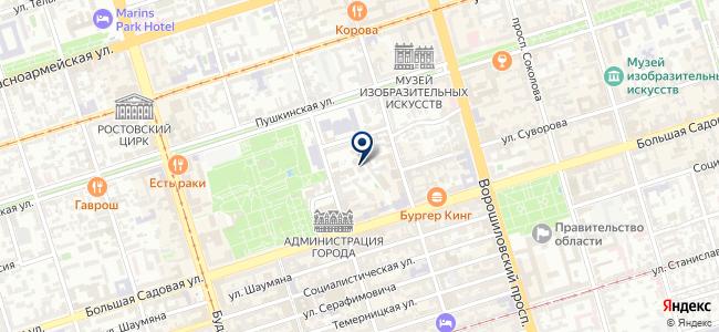 ICS на карте