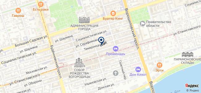 Антекс на карте