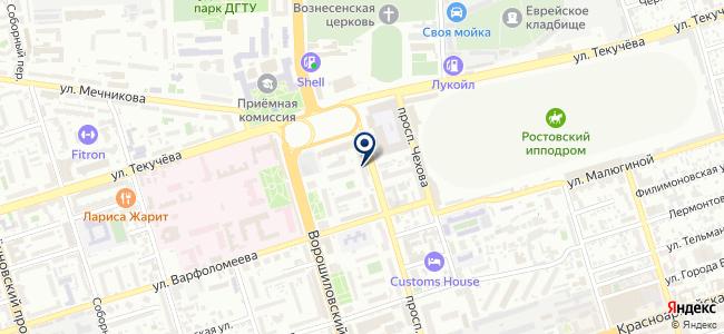 Техэксперт на карте