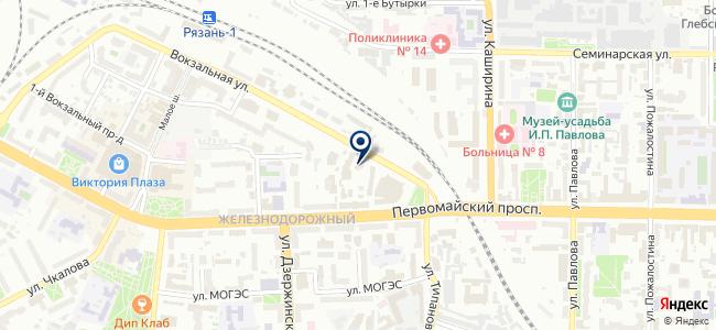 РязаньЭнергоСервис, ООО на карте