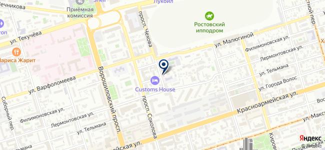 ЭТП-системы электропитания, ЗАО на карте