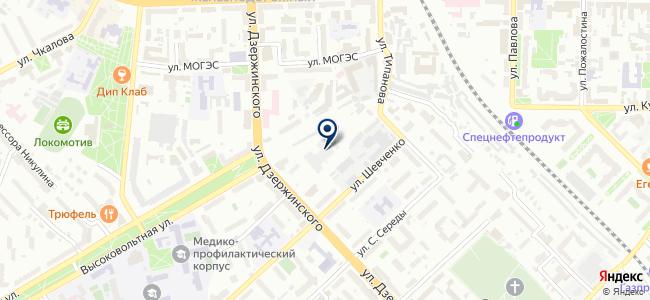 Управление Рязанского троллейбуса на карте