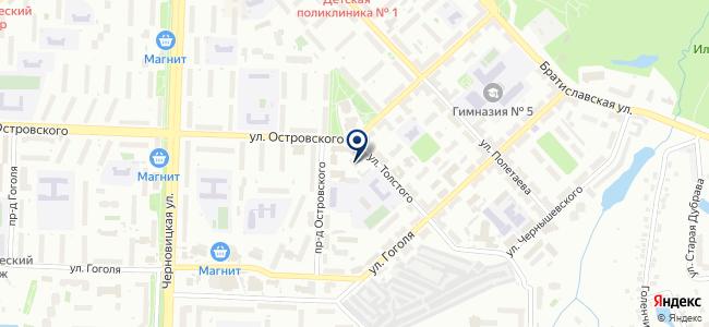 АНТ, ЗАО на карте