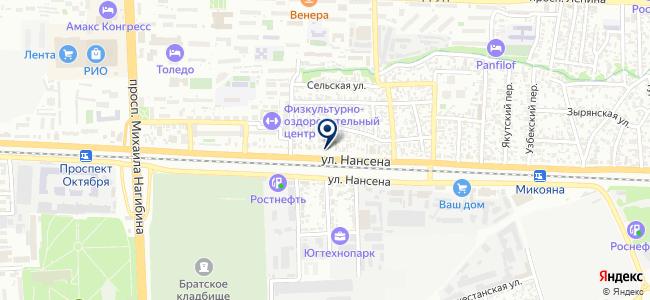 Технолайн, ООО на карте