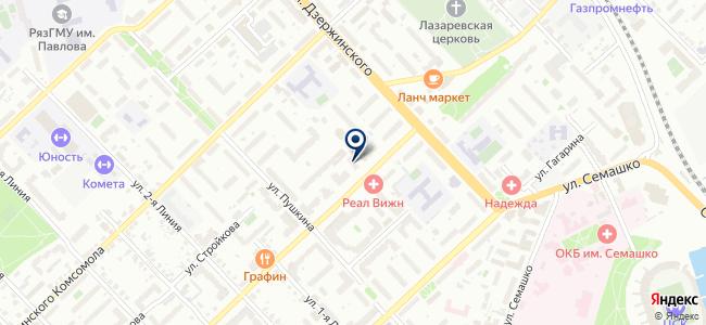Пал-Секамыч на карте