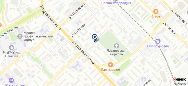 АВЕНТЭЛ на карте