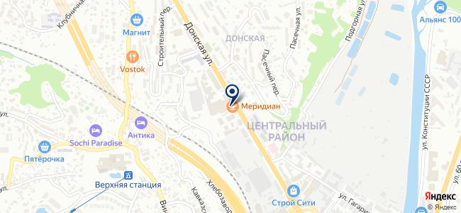 Паллада, ООО на карте