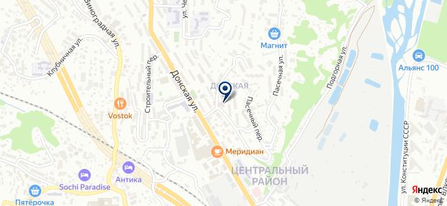 УСТА на карте