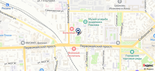 Связь Систем-Сервис Рязань, ООО на карте