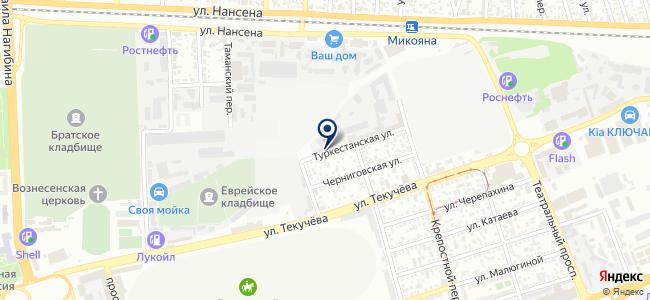 Узел, ООО на карте