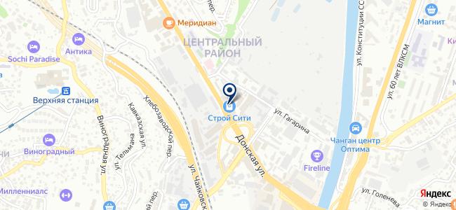 Строительные Системы и Технологии, ООО на карте