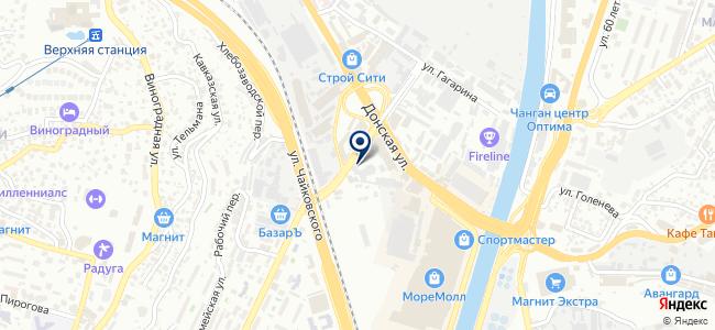 Билибино, ООО на карте