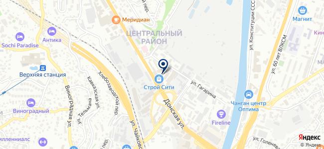 Магазин инструментов и крепежных изделий на карте