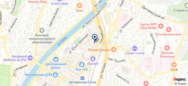 Блик-Центр на карте