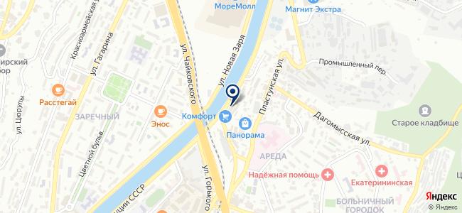 Континент Сочи, ООО на карте