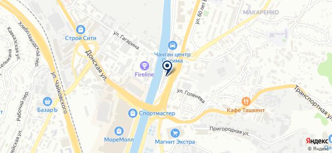 Магазин сантехники и инструмента на карте