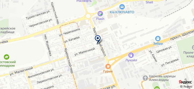 Модуль-Дизайн на карте