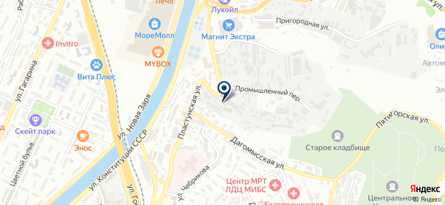 Сочинский городской центр строительных ресурсов, ООО на карте