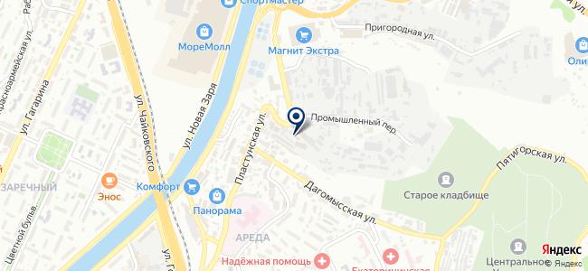 Бригадир Плюс на карте