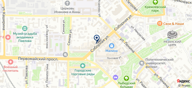 Бензомаркет на карте