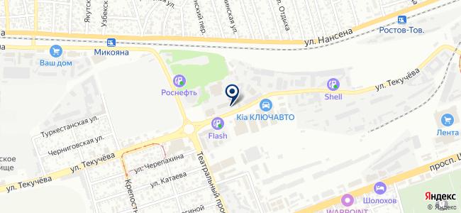 Ростехнохим, ООО на карте