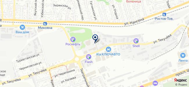 СевКавСнаб, ООО на карте
