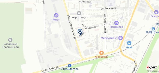 Донская корона, ООО на карте