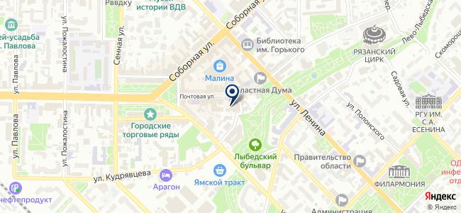 Пункт услуг связи №1 на карте