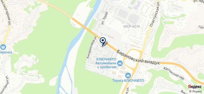 Грантсвет на карте